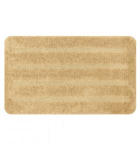 PARADISE - Beige, tappeto 100% microfibra a pelo raso con fondo antiscivolo