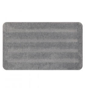 PARADISE - Grigio, tappeto 100% microfibra a pelo raso con fondo antiscivolo ambientata