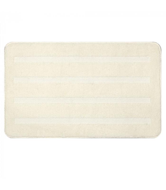 PARADISE - Bianco, tappeto 100% microfibra a pelo raso con fondo antiscivolo