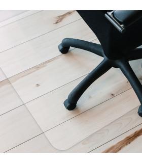 GHOST - Tappeto protettivo salva pavimento di plastica 90X120 ambientata sedia
