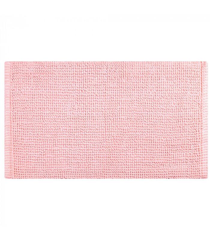 CORN 3 - Rosa, Tappeto da bagno 100% microfibra super soffice, assorbente e antiscivolo.