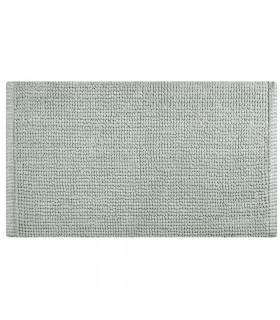 CORN 3 - Grigio, Tappeto da bagno in microfibra super soffice, assorbente e antiscivolo.
