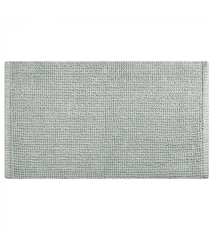CORN 3 - Grey, super soft microfiber bath mat, absorbent and non-slip.