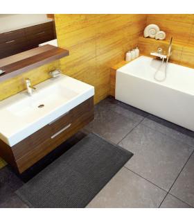 CORN 3 - Anthracite, super soft microfiber bath mat, absorbent and non-slip. ambient