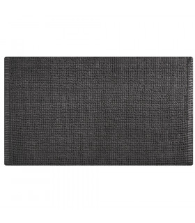 CORN 3 - Anthracite, super soft microfiber bath mat, absorbent and non-slip.