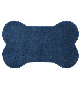 OSSO - Bone-shaped rug in super absorbent microfiber for pets.