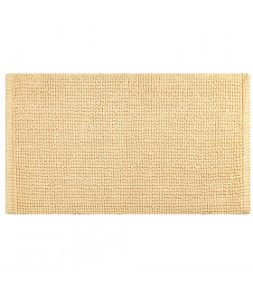 CORN 3 - Beige, super soft microfiber bath mat, absorbent and non-slip.