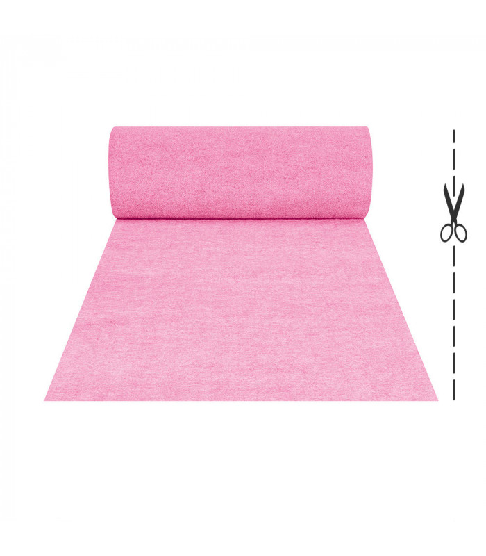 CHRISTMAS - Pink runner, tailored, carpet effect for events, carpet for ceremonies and shops