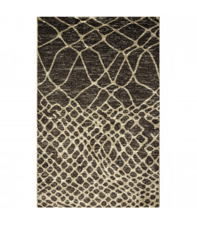 ART - Berbero brown, modern design furniture rug