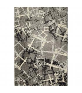 ART - Murales grey, tappeto di design moderno da arredo