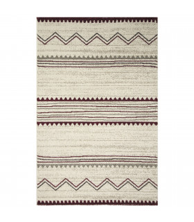 ART - Ethnic red, modern design furniture rug