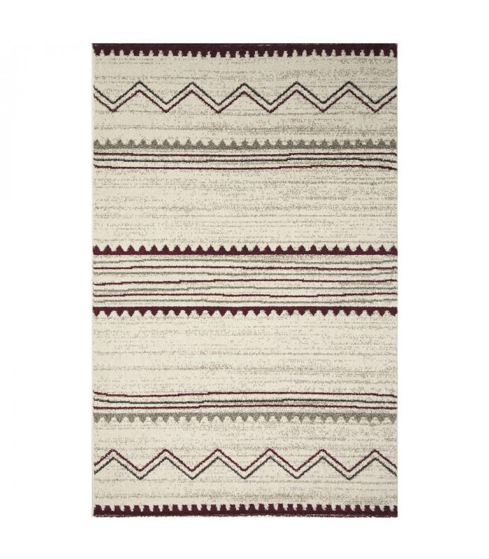 ART - Ethnic red, modern design furniture rug