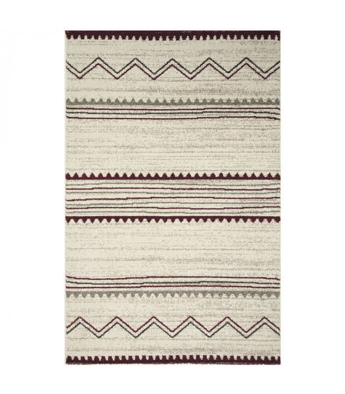 ART - Ethnic red, tappeto di design moderno da arredo