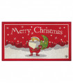 NOEL, Santa greets - Indoor and outdoor carpet in Christmas pattern