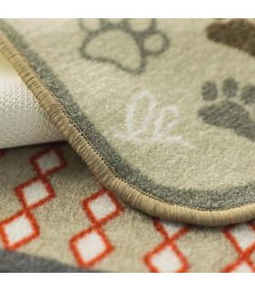 Signed carpet for animals, soft, multipurpose, resistant