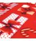 KLAUS ROLL Gift - Non-slip carpet runner with cute Christmas prints detail