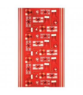 KLAUS ROLL Gift - Tappeto passatoia antiscivolo con simpatiche stampe natalizie