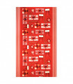 KLAUS ROLL Gift - Non-slip carpet runner with cute Christmas prints