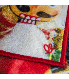 DIGITAL SCHIACCIANOCI King Soldiers - Christmas rug in printed nylon with non-slip bottom logo detail