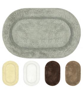 ARIEL - Soft cotton bath mat, absorbent and non-slip.
