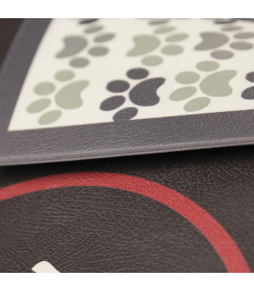 detail of PET clean: Anti-stain and modern carpet