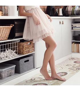 JOKE 3 - Shabby, printed anti-slip rug, custom kitchen lane ambient