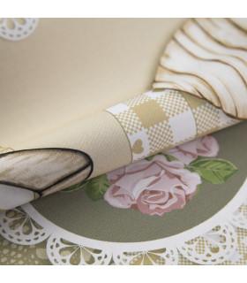 JOKE 3 - Shabby, printed anti-slip rug, custom kitchen lane detail 2
