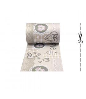 JOKE 3 - Shabby, tappeto antiscivolo stampato, corsia da cucina su misura