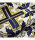 JOKE 3 - Positano, printed non-slip carpet, custom kitchen lane detail 1