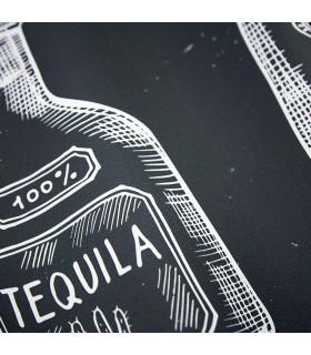 JOKE 3 - Bottles, printed non-slip carpet, custom kitchen lane detail 2