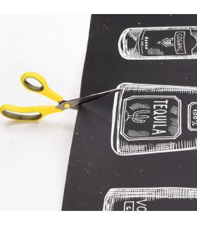 JOKE 3 - Bottles, printed non-slip carpet, custom kitchen lane cutting