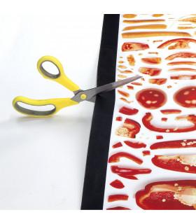 JOKE 3 - Vegetables, printed non-slip carpet, custom kitchen lane cutting