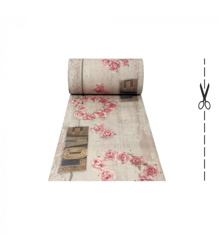 DECOR Love - Stain-resistant carpet, non-slip kitchen runner