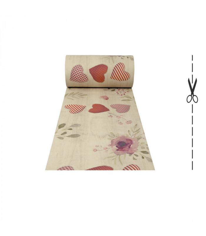 DECOR Passion - Stain-resistant carpet, non-slip kitchen runner