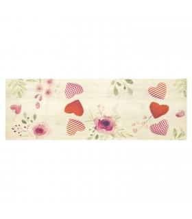 DECOR Passion - Stain-resistant carpet, non-slip kitchen runner lay