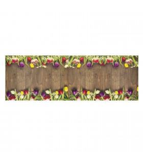 DECOR Garden - Stain-resistant carpet, non-slip kitchen runner lay