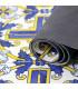 JOKE 3 - Positano, tappeto antiscivolo stampato, corsia da cucina su misura dettaglio fondo