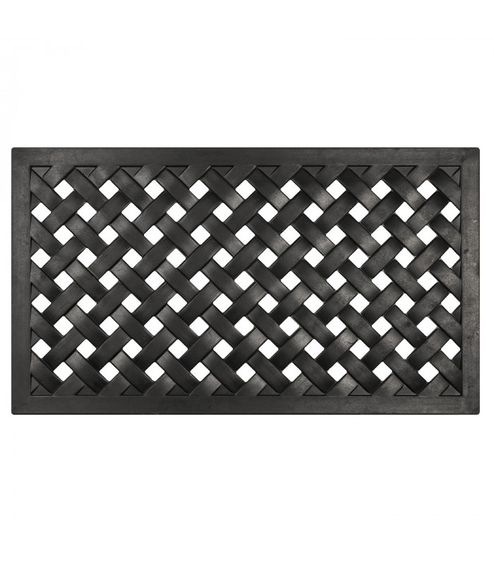 HONEY - Doormat 100% non-slip rubber with a woven pattern, one size 40x70 cm
