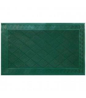 MORBIDONE Verde - Zerbino 40x70 in PVC, antiscivolo, barriera contro lo sporco, defaticante.