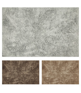 ELIXIR RECTANGULAR - Bath mat in extra soft microfibre and rubber bottom showcase