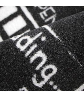 FUNNY - Loading Zerbino asciugapassi 45x75 cm antiscivolo scritte originali dettaglio