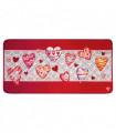 SECOND QUEEN - Love Red non-slip mat kitchen, assorted sizes