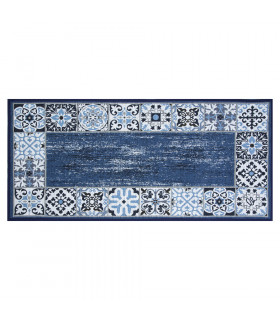 SPRINT MAIOLICA - Kitchen mat with non-slip bottom - assorted sizes and colors  blue
