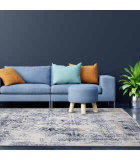 LOFT - CLASSIC BLUE, Modern carpet for furniture. Available in assorted sizes. ambient