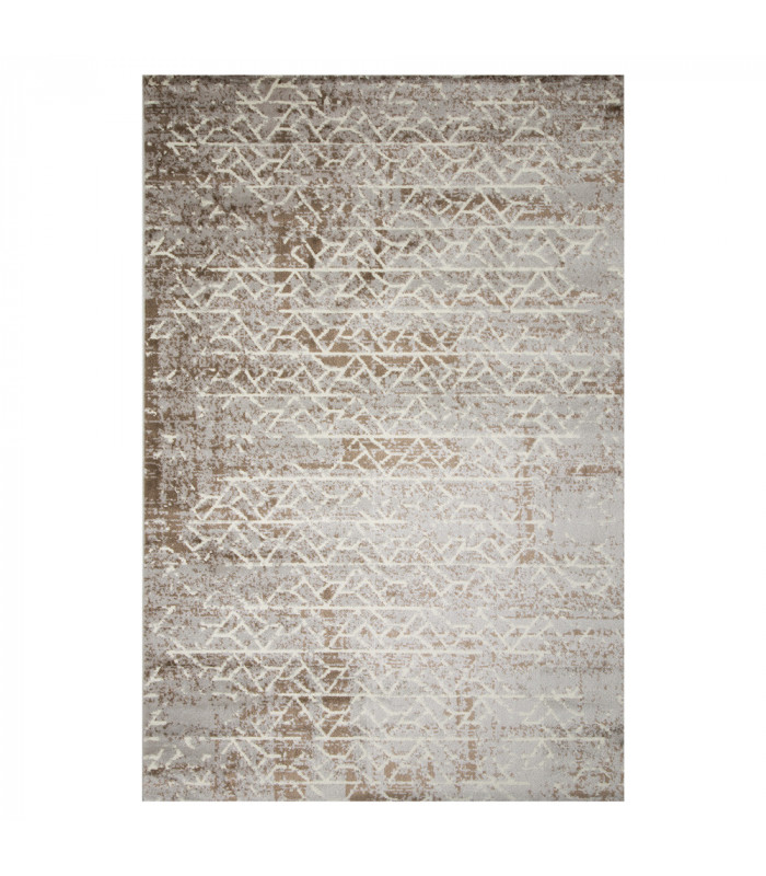 LOFT - LABYRINTH BROWN, Modern carpet for furniture. Available in assorted sizes.