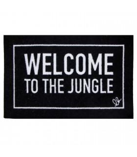 FUNNY - Jungle Zerbino asciugapassi 45x75 cm antiscivolo scritte originali