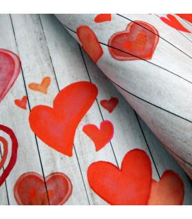 MIAMI PARQUET LOVE - non-slip kitchen rug various sizes - detail