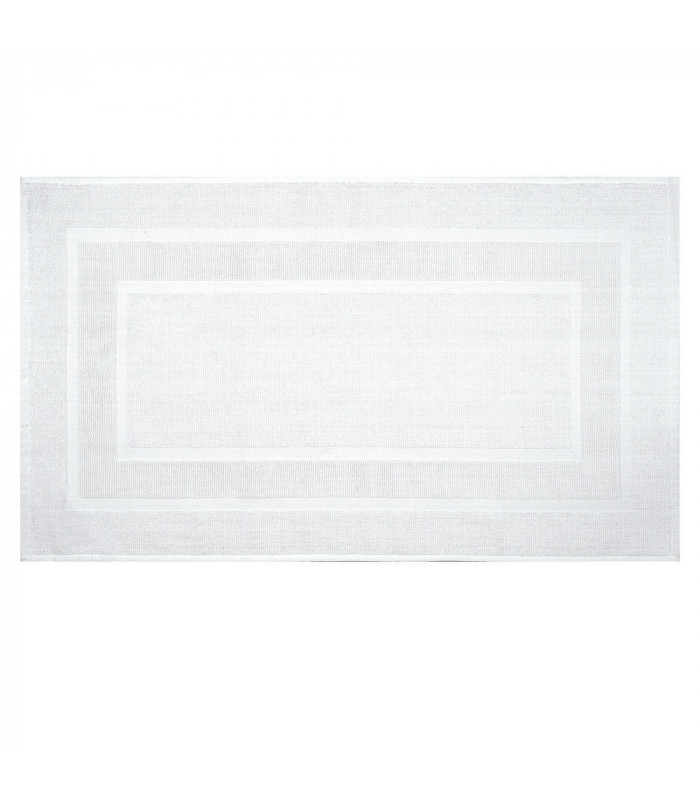 VELA - Soft and absorbent cotton bath mat with non-slip bottom