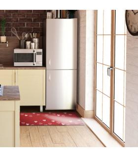 LIBERTY 2 - RED HEARTS Custom non-slip multi-purpose kitchen rug - ambient