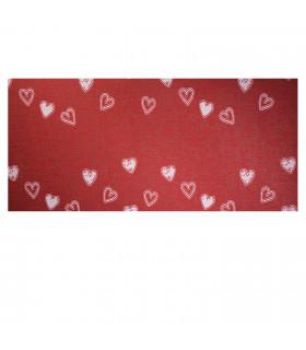 LIBERTY 2 - RED HEARTS Custom non-slip multi-purpose kitchen rug